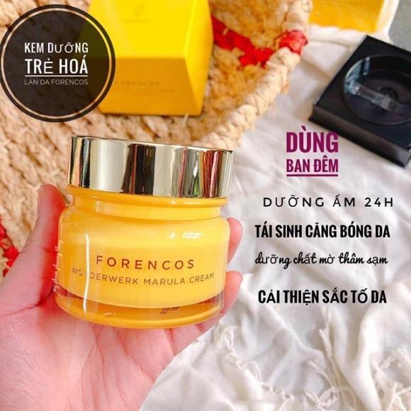 Kem dưỡng da Forencos vàng Wonderwerk Marula Cream 50ml 1