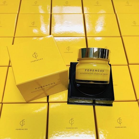 Kem dưỡng da Forencos vàng Wonderwerk Marula Cream 50ml 0