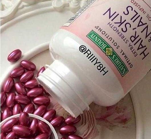 Viên đẹp da móng tóc Nature's Bounty Hair, Skin & Nails 250 4