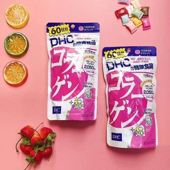 Viên uống Collagen DHC 360 viên Nhật Bản - Trẻ hóa da 4