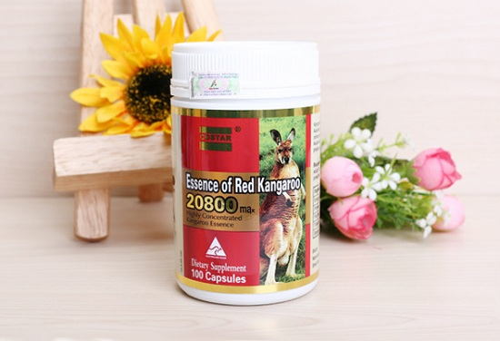 Essence of Red Kangaroo 20800 max của Úc cho nam giới 1
