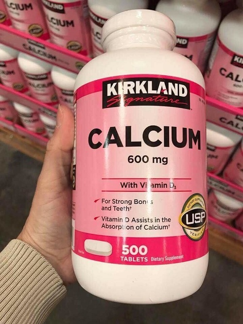 Calcium 600mg With Vitamin D3 của Mỹ - Hộp 500 viên 1