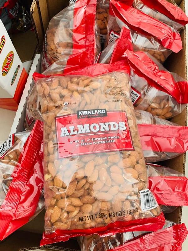 Hạnh nhân Kirkland Almonds 1,36kg của Mỹ - Giá tốt 8