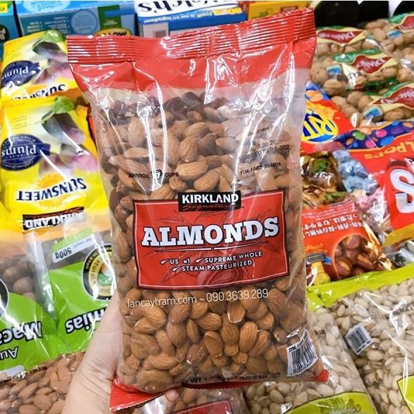 Hạnh nhân Kirkland Almonds 1,36kg của Mỹ - Giá tốt 5