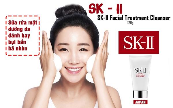 Sữa rửa mặt SK-II Facial Treatment Gentle Cleanser của Nhật Bản 1