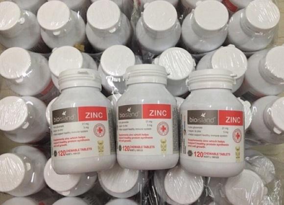 Viên kẽm Bio Island Zinc cho bé trên 1 tuổi - Giá tốt 0