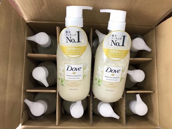 Sữa tắm Dove nội địa Nhật Botanical Selection 500g đủ 3 mùi 9