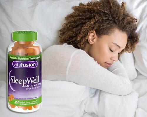 Kẹo ngủ Vitafusion SleepWell có tác dụng gì?-3