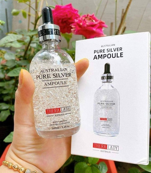Serum tinh chất bạc Australian Pure Silver Ampoule 100ml Úc 1