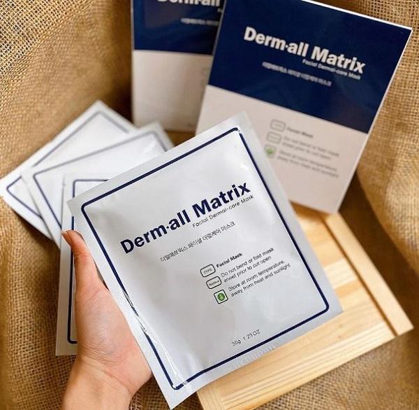 Mặt nạ Derm-All Matrix review chân thực nhất từ khách hàng 8