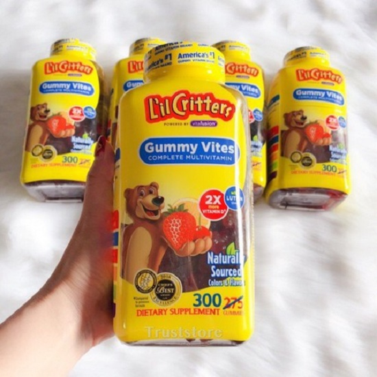 Review kẹo dẻo Gummy Vites - Bổ sung vi khoáng cho bé 1