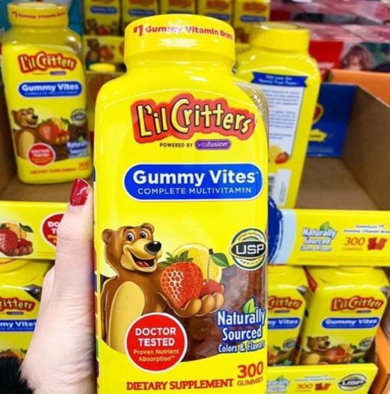 Review kẹo dẻo Gummy Vites – Bổ sung vi khoáng cho bé