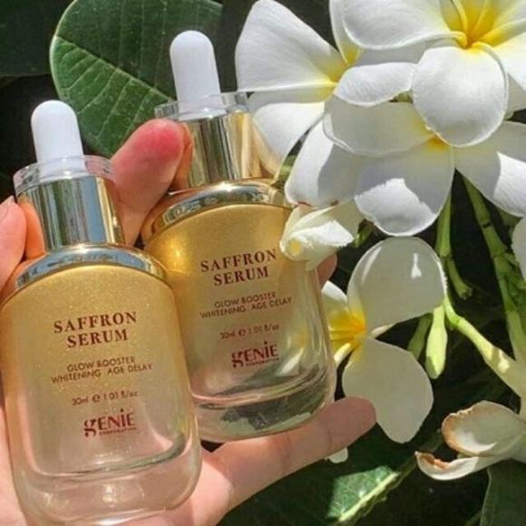 Serum Saffron Genie review chi tiết từ các khách hàng 0