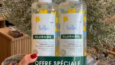 Review sữa tắm Bebe Klorane 500ml từ khách hàng
