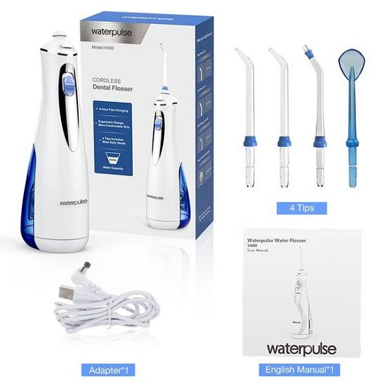 Máy tăm nước Waterpulse V400 Plus có tốt không? 1