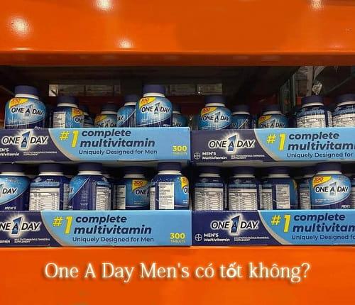 One A Day Men's có tốt không? Đây là thuốc gì?