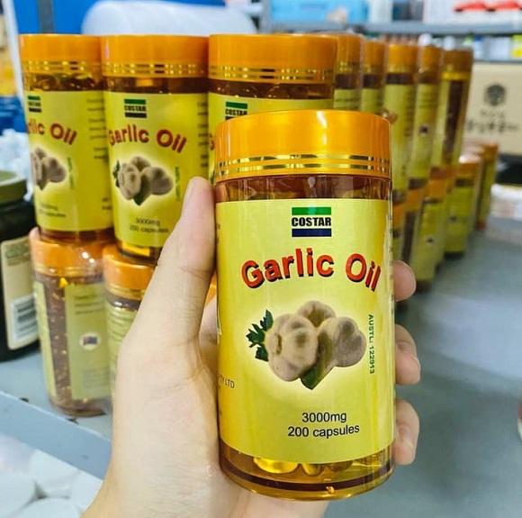 Garlic Oil có tác dụng gì? Khám phá tinh dầu tỏi Úc 0