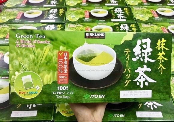 Trà xanh Kirkland Green Tea của Mỹ có tốt không? 9