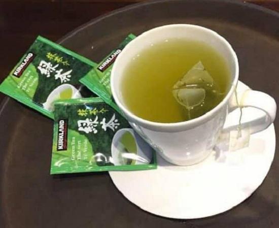 Trà xanh Kirkland Green Tea của Mỹ có tốt không? 2
