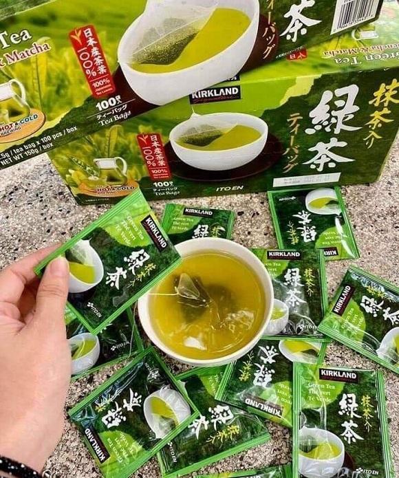 Trà xanh Kirkland Green Tea của Mỹ có tốt không? 6
