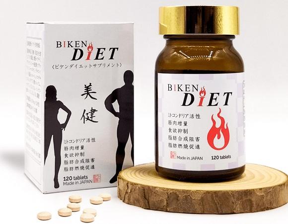 Viên uống giảm cân Biken Diet review chi tiết từ khách hàng 9