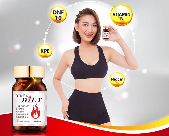 Viên uống giảm cân Biken Diet review chi tiết từ khách hàng 1