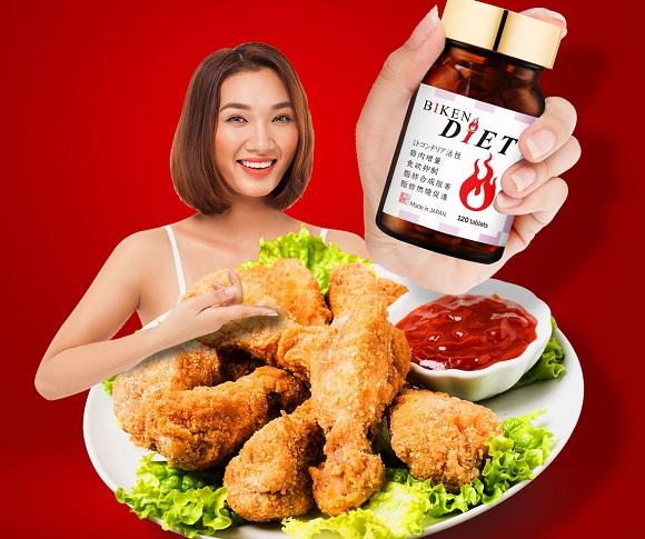 Viên uống giảm cân Biken Diet review chi tiết từ khách hàng 7