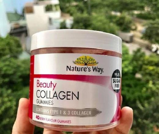 Kẹo dẻo Collagen Nature's Way có tốt không?