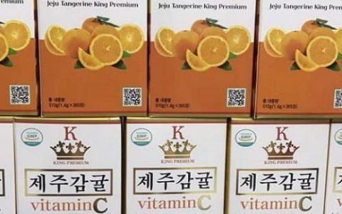 King Premium Vitamin C Jeju có tốt không?