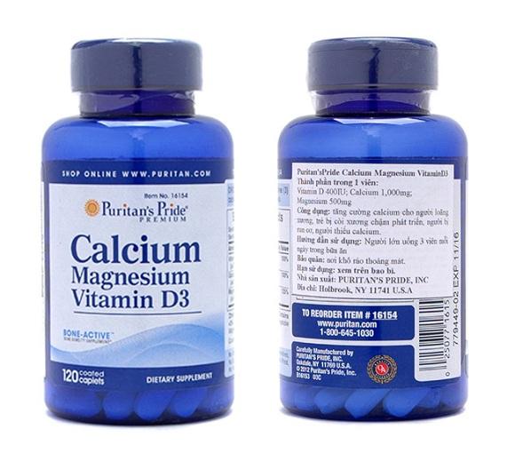 Calcium Magnesium Vitamin D3 là thuốc gì? Tác dụng ra sao? 7