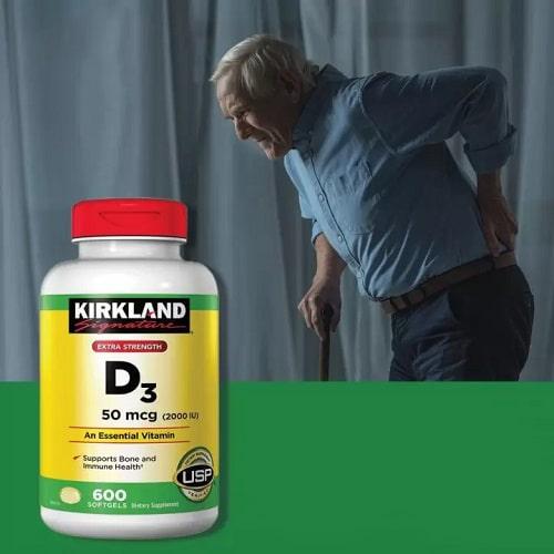 Công dụng Vitamin D3 2000 IU Kirkland là gì?-3